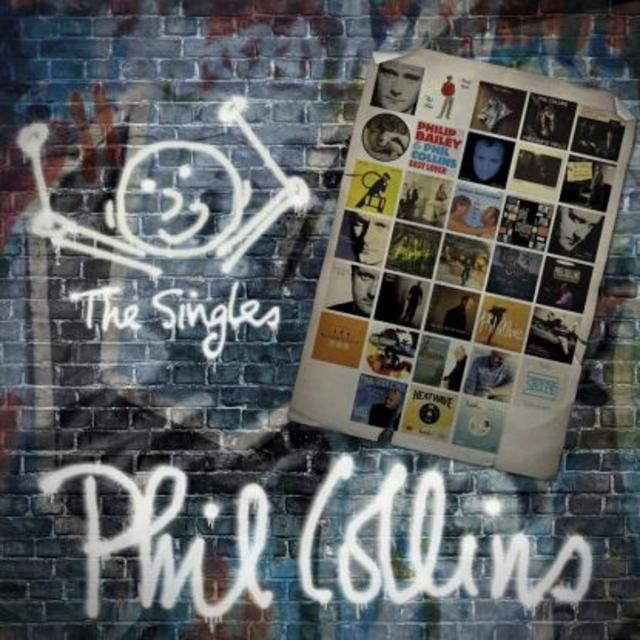 Now Available: Phil Collins, THE SINGLES