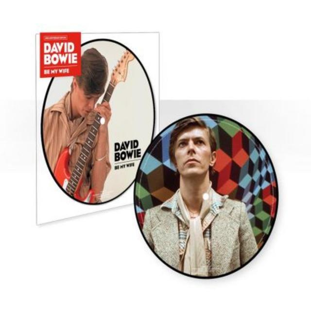 "Now Available: The Latest David Bowie 7"" Picture Disc"