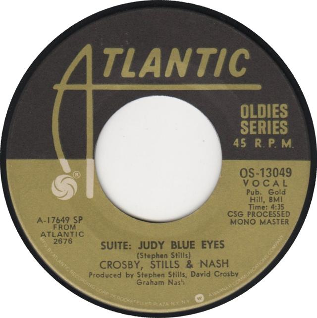 "Single Stories: Crosby, Stills & Nash, ""Suite: Judy Blue Eyes"""