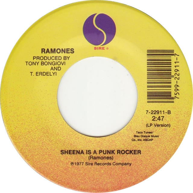 "Single Stories: Ramones, ""Sheena Is A Punk Rocker"""