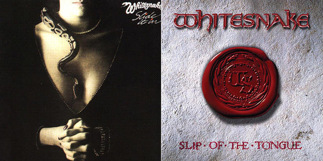 Out Now: Whitesnake, SLIDE IT IN / SLIP OF THE TONGUE