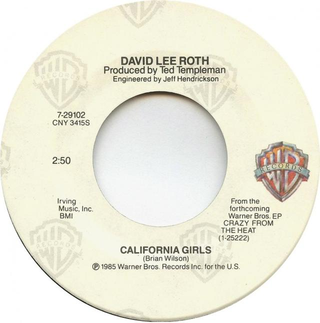"Single Stories: David Lee Roth, ""California Girls"""