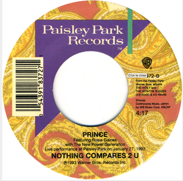 "Single Stories: Prince, ""Nothing Compares 2 U"""