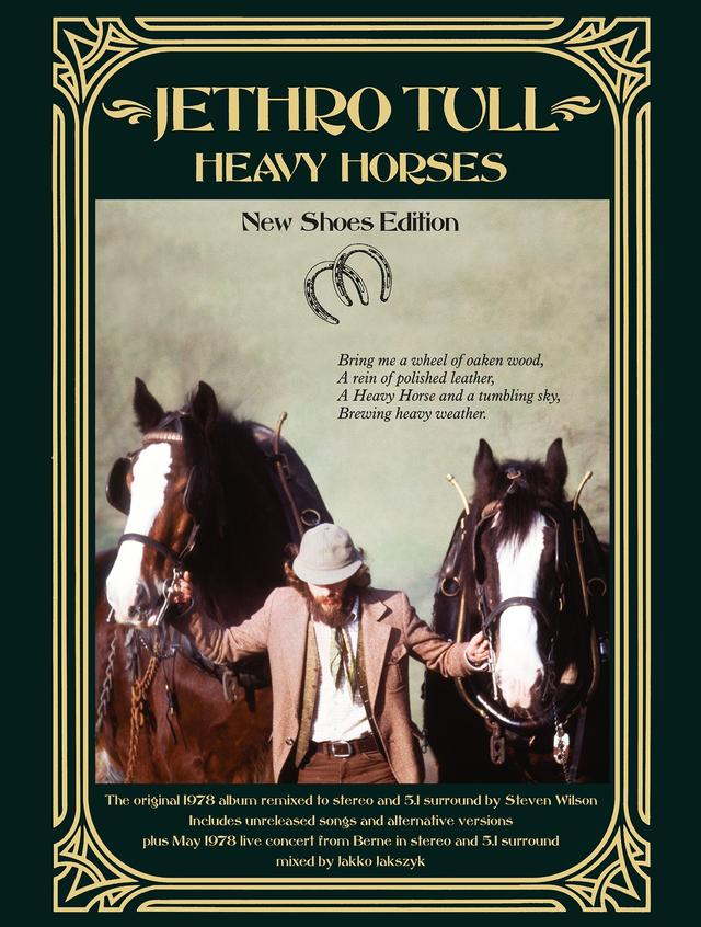 Out Now: Jethro Tull, HEAVY HORSES: NEW SHOES EDITION