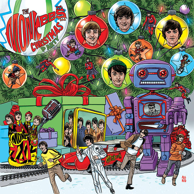 the monkees to release christmas party their first ever holiday album rhino - Christmas Party Songs
