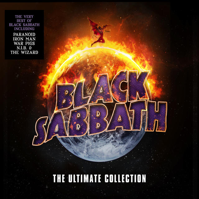 Black Sabbath THE ULTIMATE COLLECTION Cover Art