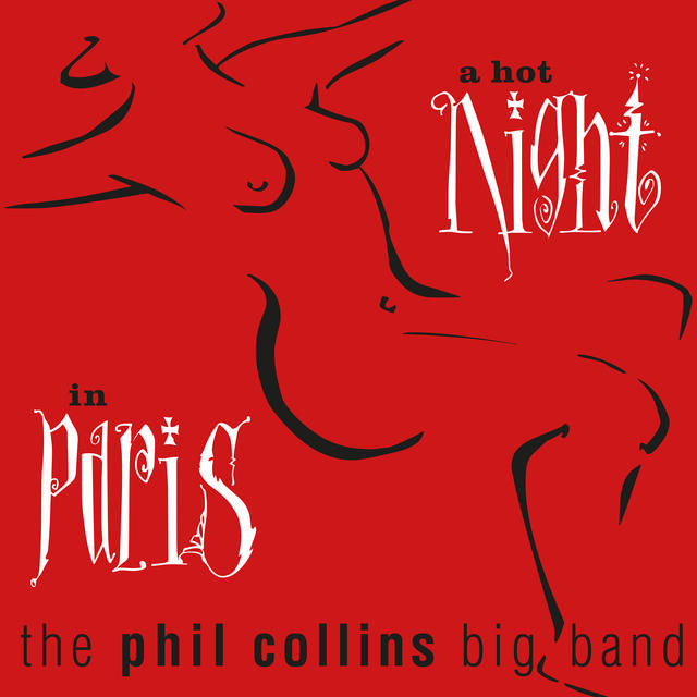Phil Collins A HOT NIGHT IN PARIS Cover