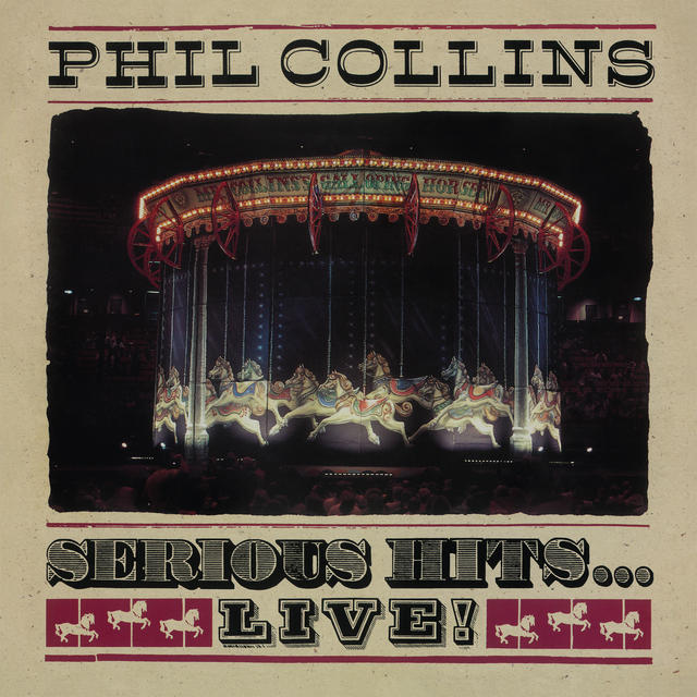 Phil Collins SERIOUS HITS... LIVE Cover