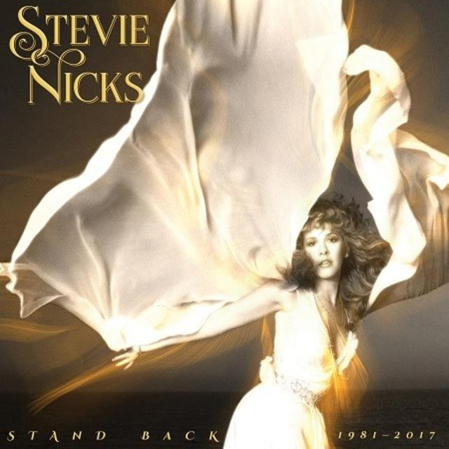 Stevie Nicks STAND BACK 1981-2017 Cover Art