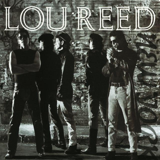 Lou Reed NEW YORK Album Cover
