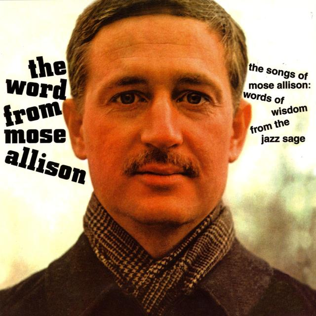 Mose Allison THE WORD FROM MOSE Album Art