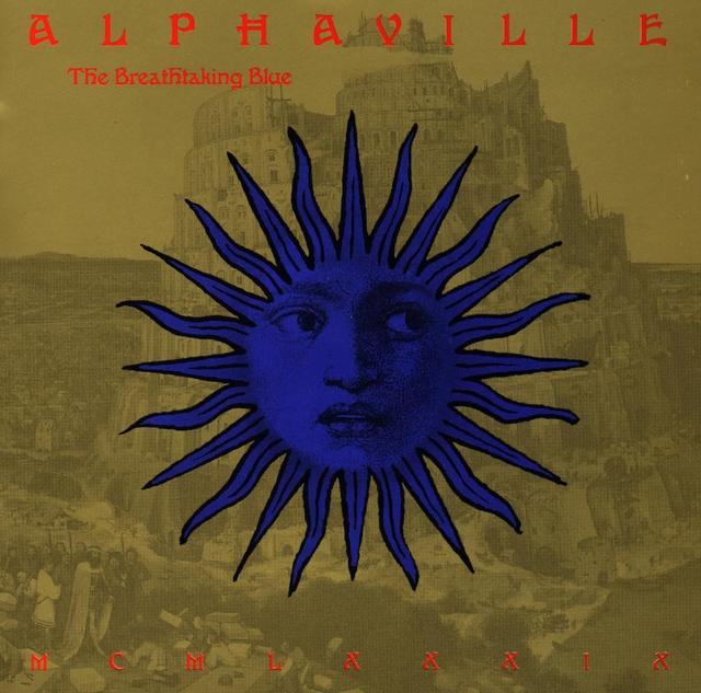 Alphaville THE BREATHTAKING BLUE Album Cover