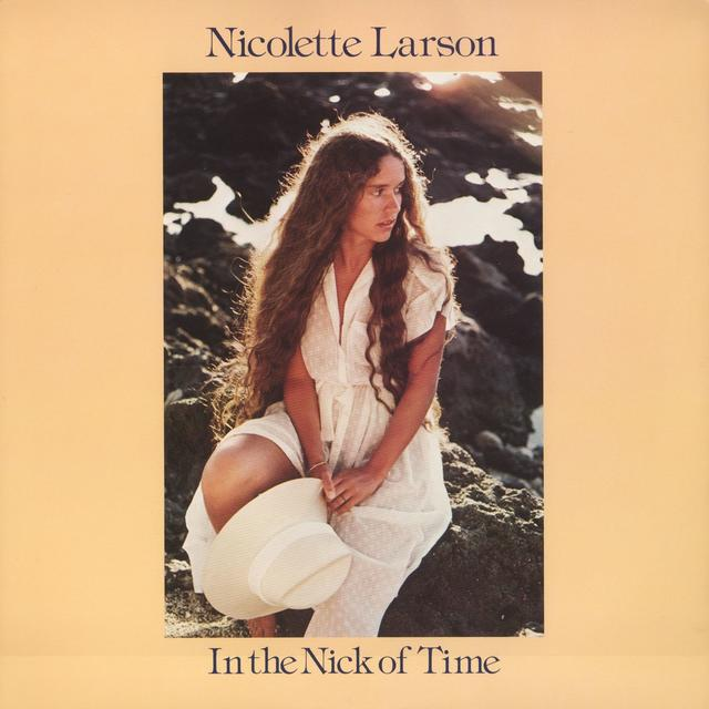 Nicolette Larson IN THE NICK OF TIME Cover Art
