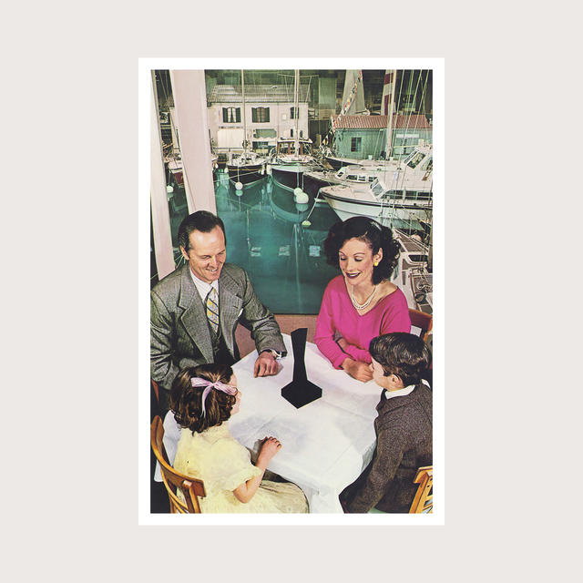 Led Zeppelin - PRESENCE Album Cover