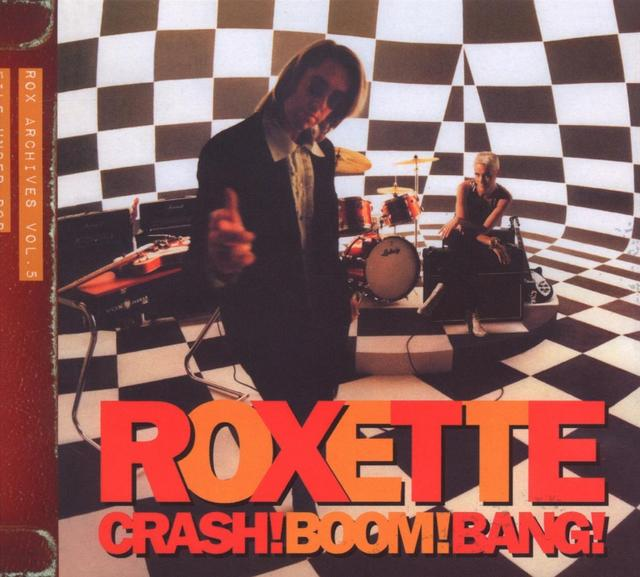 Roxette CRASH! BOOM! BANG! Album Cover Art