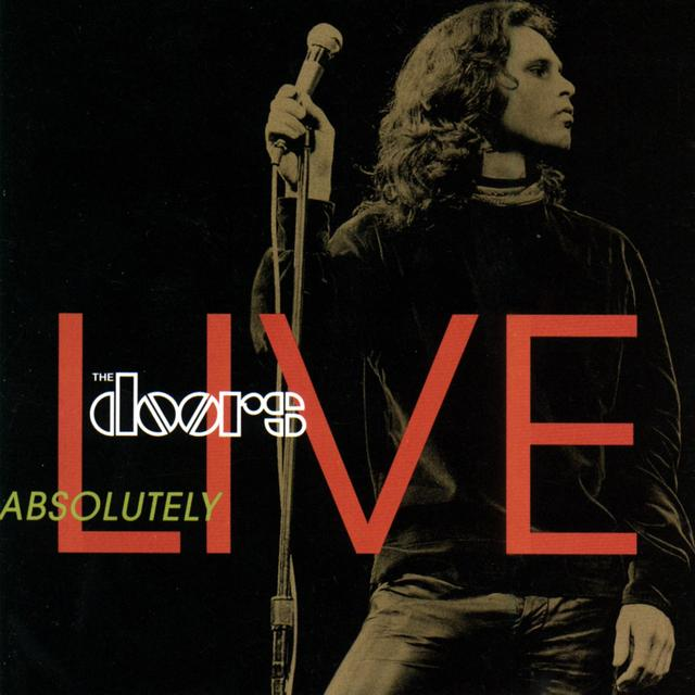 The Doors ABSOLUTELY LIVE Album Cover