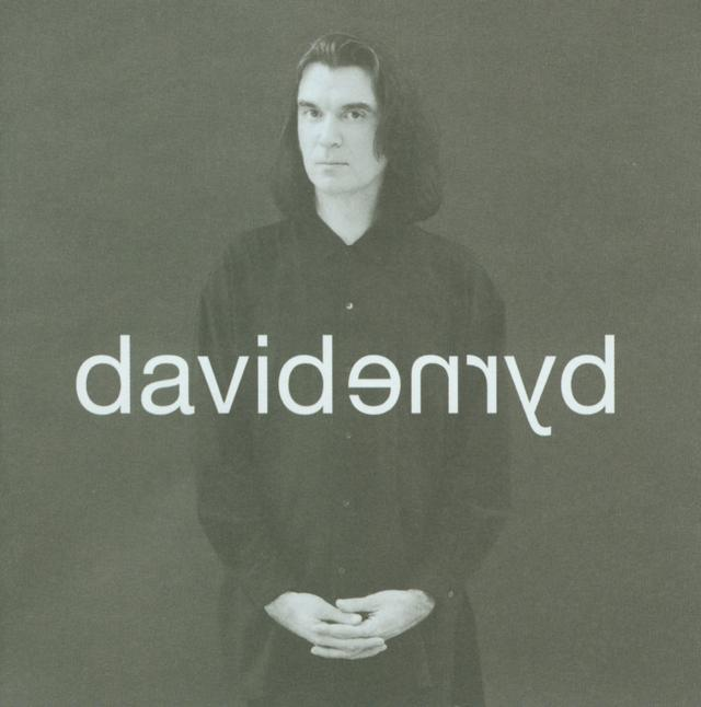 David Byrne DAVIDBYRNE Album Cover