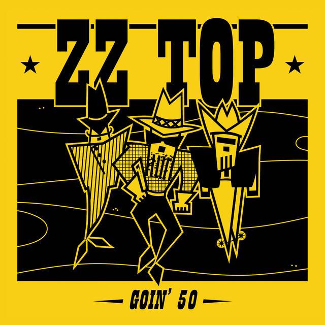 ZZ TOP GOIN 50 Album Cover