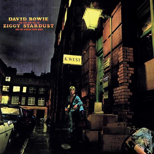 David Bowie THE RISE AND FALL OF ZIGGY STARDUST AND THE SPIDERS FROM MARS Album Cover