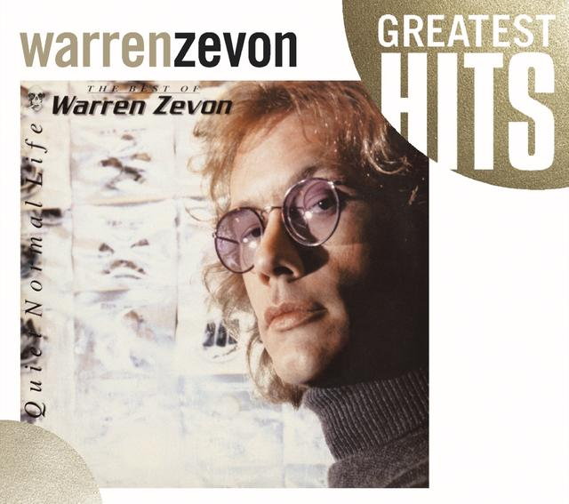 Warren Zevon GREATEST HITS Album Cover