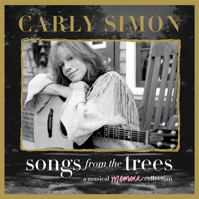 Carly Simon SONGS FROM THE TREES Album Cover