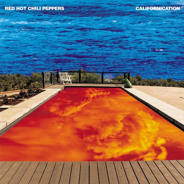 Red Hot Chili Peppers CALIFORNIACATION Album Cover