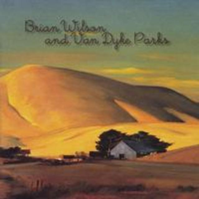 Brian Wilson and Van Dyke Parks ORANGE CRATE ART Album Cover