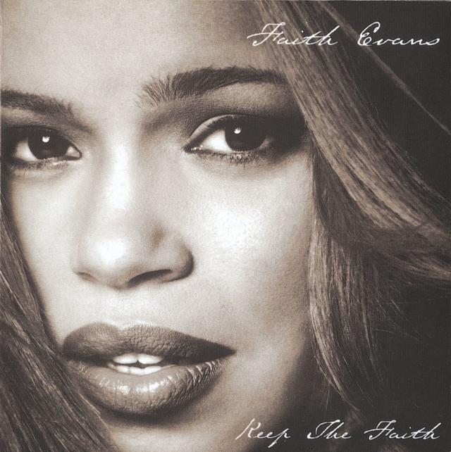 Faith Evans KEEP THE FAITH Album Cover