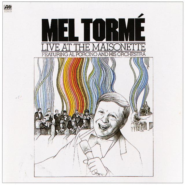Mel Torme LIVE AT THE MAINSONETTE Album Cover