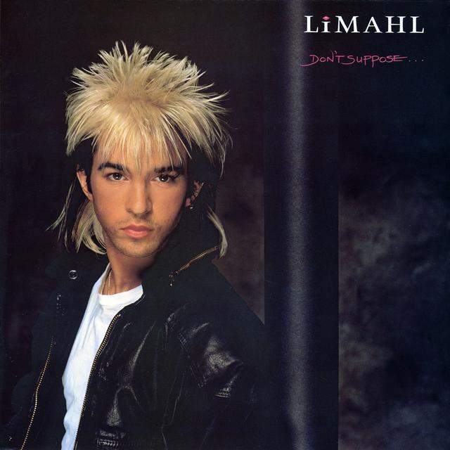 Limahl DON'T SUPPOSE Album Cover