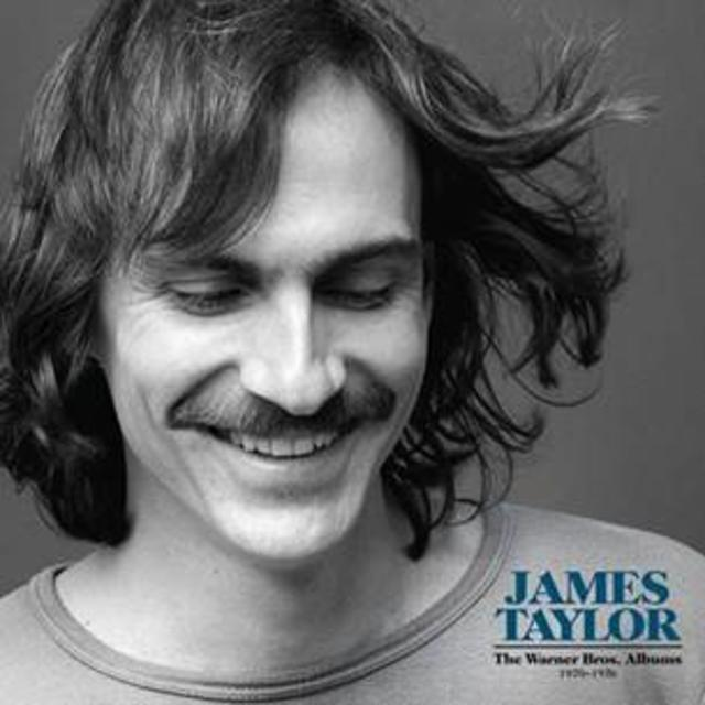 James Taylor THE WARNER BROS. ALBUMS Cover Art