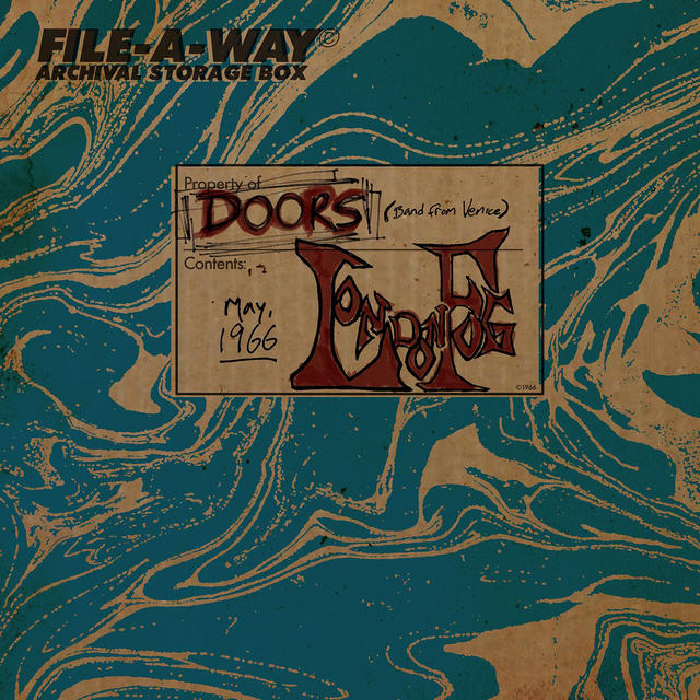 The Doors LONDON FOG Album Cover