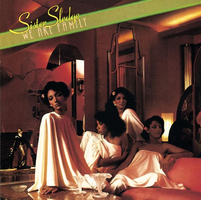 Sister Sledge WE ARE FAMILY Album Cover