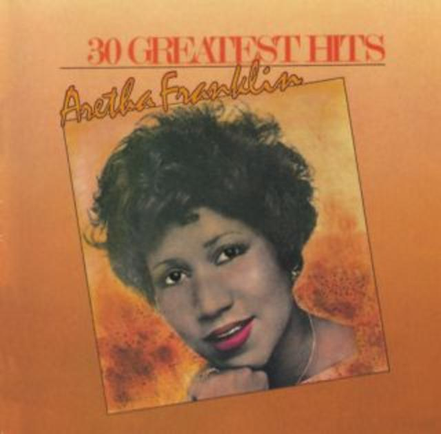 Aretha Franklin 30 GREATEST HITS Cover