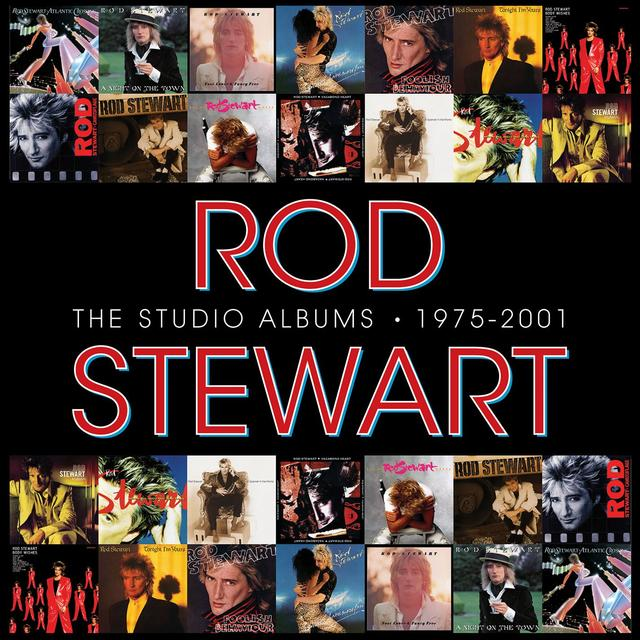 Rod Stewart THE STUDIO ALBUMS 1971-2001 Cover