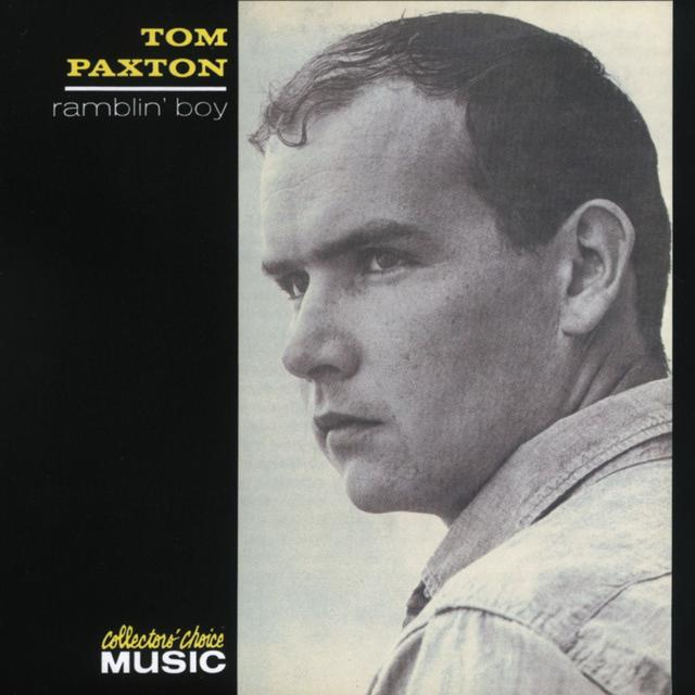 Tom Paxton RAMBLIN' BOY Cover