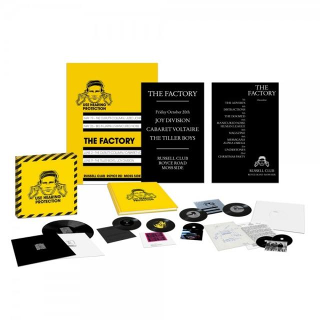 HEARING PROTECTION: FACTORY RECORDS 78-79 Package Shot