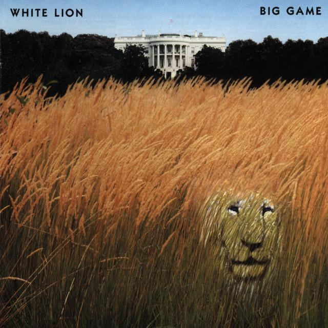 White Lion BIG GAME Cover