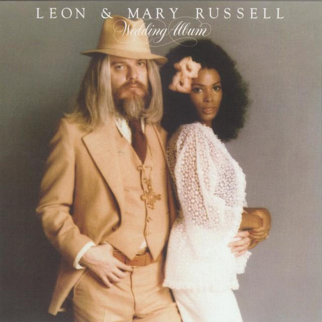 Leon & Mary Russell THE WEDDING ALBUM Cover