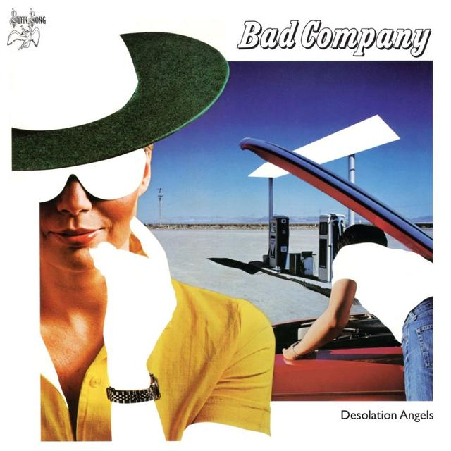 Bad Company DESOLATION ANGELS Cover