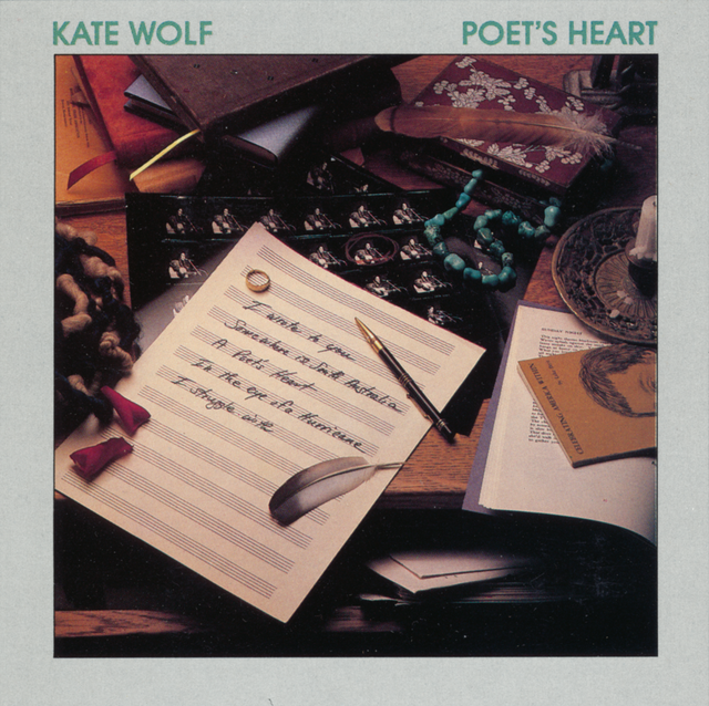 Kate Wolf POET'S HEART Cover