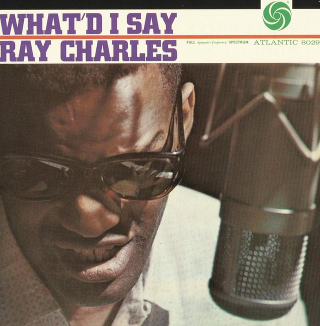Ray Charles WHAT'D I SAY Cover
