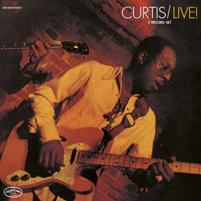 Curtis Mayfield CURTIS/LIVE! Cover