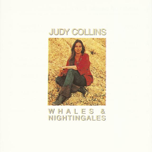 Judy Collins WHALES & NIGHTINGALES Cover