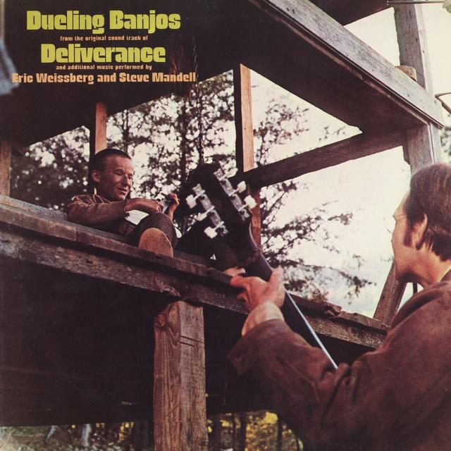 Eric Weissberg DUELING BANJOS Cover