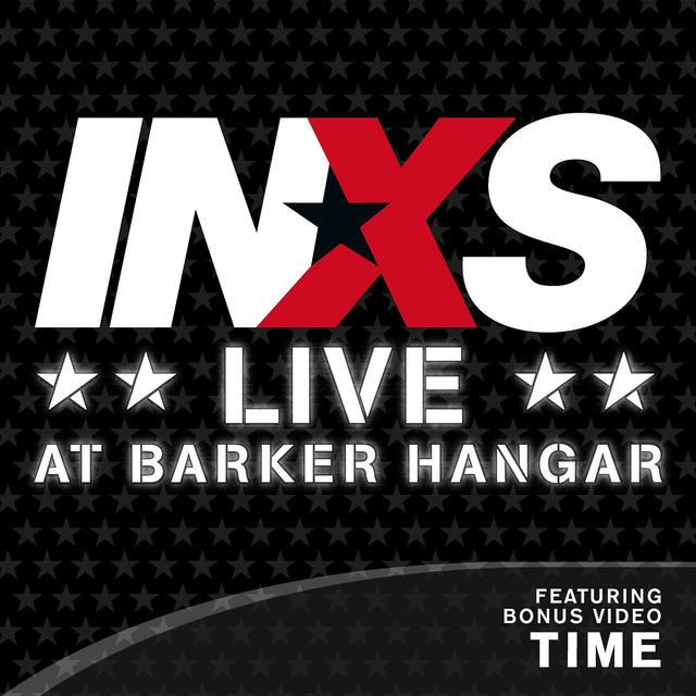 INXS LIVE AT BARKER HANGAR Cover
