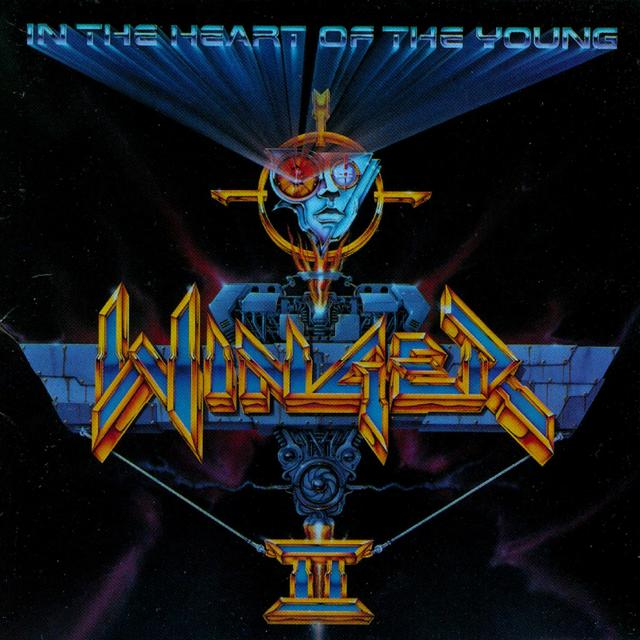 Winger IN THE HEART OF THE YOUNG Album Cover