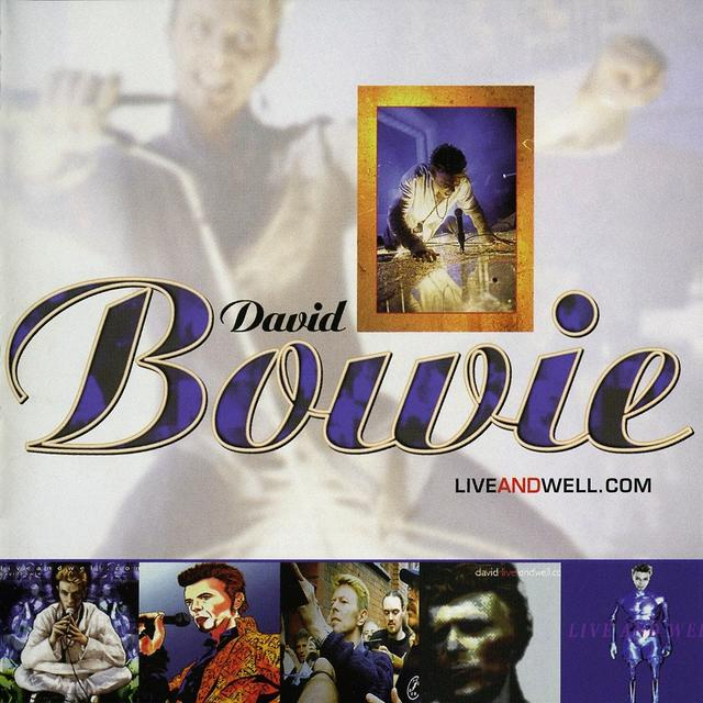 David Bowie LIVEANDWELL Cover