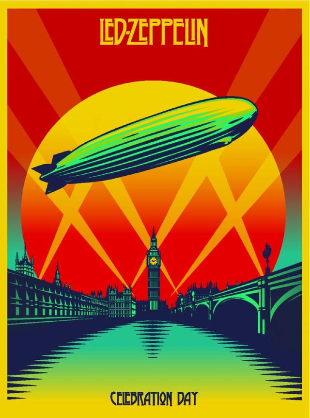 Led Zeppelin CELEBRATION DAY Art