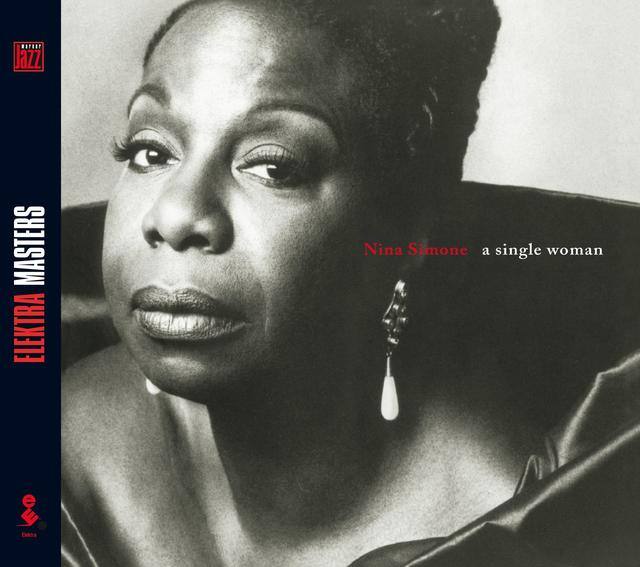 Nina Simone A SINGLE WOMAN Cover